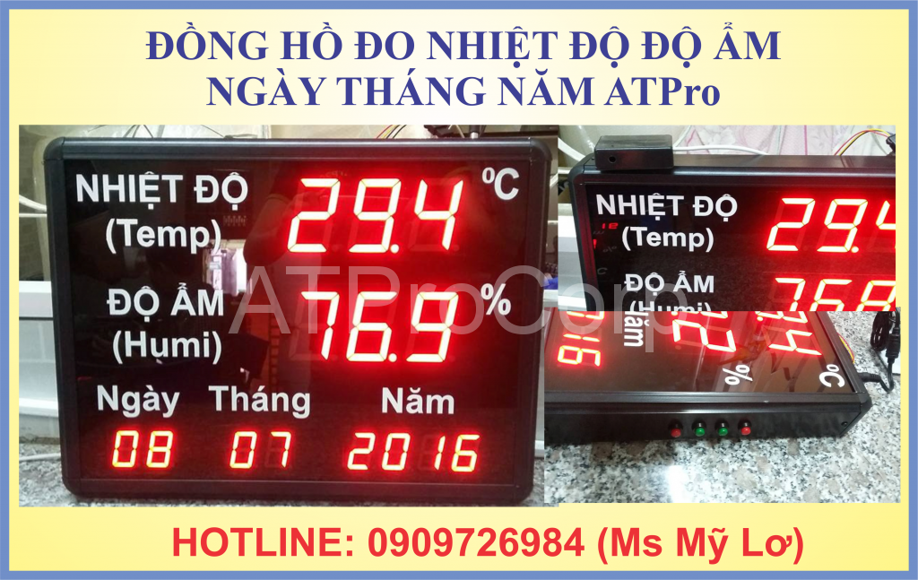 dong ho do nhiet do do am ngay thang nam ATPro